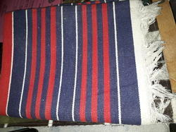 NA Only Fabric Handloom Durries / Rugs, Size: size in inches - 24 x 47 each
