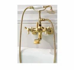 Brass Aquilo AQ 3101GD Bath And Shower Set HSN