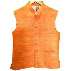 Casual Wear Mens Mandarin Collar Nehru Jacket