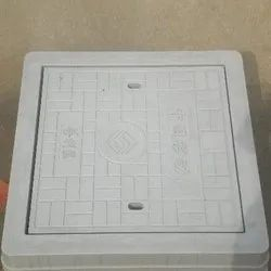 Square SFRC Manhole Cover And Frame