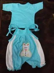 Girl & Boy Indian Dungaree Paddle Kids Suits, Medium