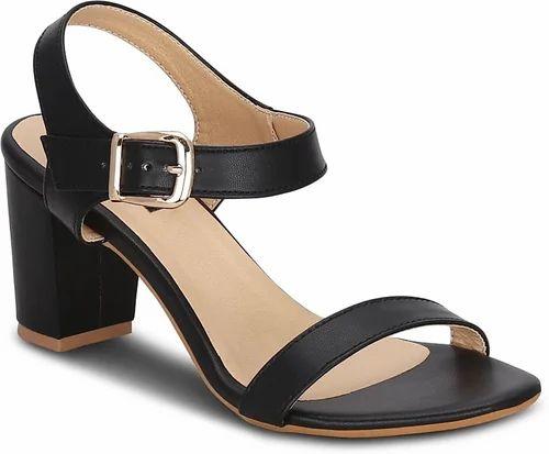 0f1f6a40fdc6 Women Fancy Black Heel Sandals