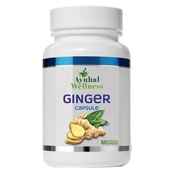 Ginger Capsule (Reduces Muscle Pain)