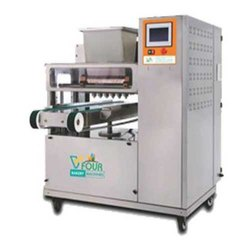 6 Nozzles Plc Cookies Dropping Machine