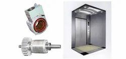 Wound Stators And Die-Cast Rotors - Elevator