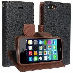 5-10 mm Leather Mobile Flip Cover