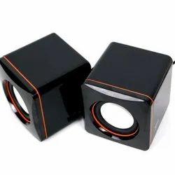 Black Plastic USB Audio Speaker