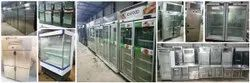 Second Hand Commercial Glass Two Door Refrigerator