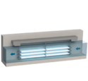 Open Channel Longitudinal Amalgam UV Disinfection System