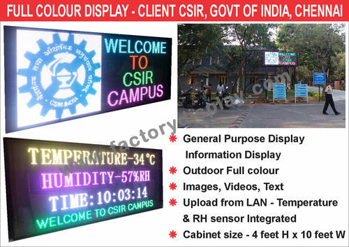 P10 Outdoor Full Colour LED Screen