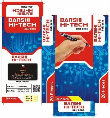 BANSHI Hi-Tech Ball Pen Rs. 3 - 4 / Piece