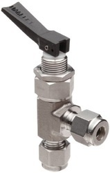 KE Stainless Steel Toggle Angle Valves, Size: 1/8 to 1/4