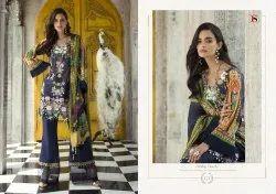 Deepsy Suits Elan Silk Vol 7 Satin Silk Digital Print 171-175 Series Suit