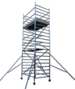 Aluminium Scaffold Tower With Stabilizer