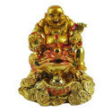 Feng Shui Laughing Buddha with Wealth Frog