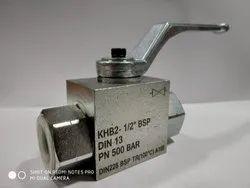 Flutec ball valve