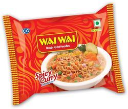 Instant Noodles Spicy Curry
