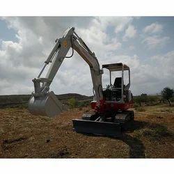 25 1945 Fine TB 219 Mini Excavator, Maximum Bucket Capacity: 0.046Cum