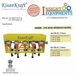 Seeder - Fit With Inter-Cultivators - Kisankraft for Agriculture