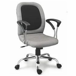 Metro Grey Workstation Chair, Warranty: 1 Year