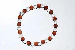 Rudraksh Sphatik Bracelet