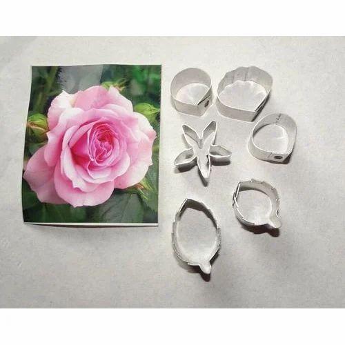 Flower Cutter Mini Rose Sugar Craft Clay Making Flower Cutter