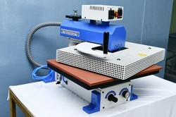 Single Bed Pneumatic Fusing Machine