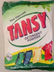 TANZY White Detergent Powder, For Laundry