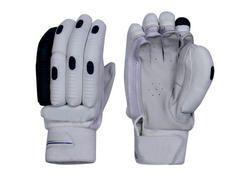 Black and White Cricket Batting Glove
