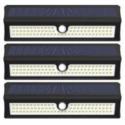 77 LED Solar Wall Light