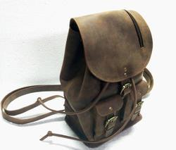Buffalo Leather Teen's Backpack Bag