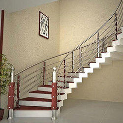 Stainless Steel Staircase In Delhi स ट नल स स ट ल