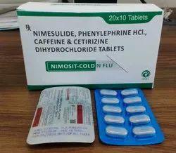 Nimesulide Paracetamol, Caffeine Anhydrous Cetrizine