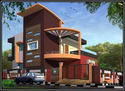 Multistory Residential Building Construction Service, Location: Local + 250 Km