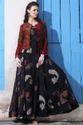 Black Women Designer Gown, Size: Xl