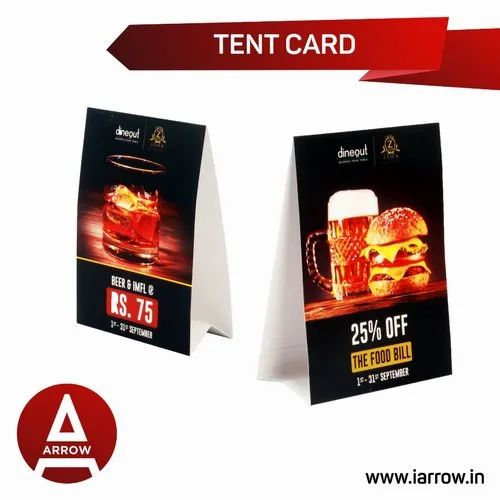 Tent Cards Printing