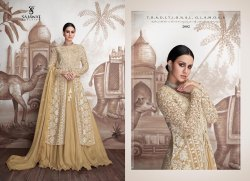 Meraki Vol-2 Party Wear Heavy Georgette With Butterfly Net With Heavy Work Ready Made Designer Suits