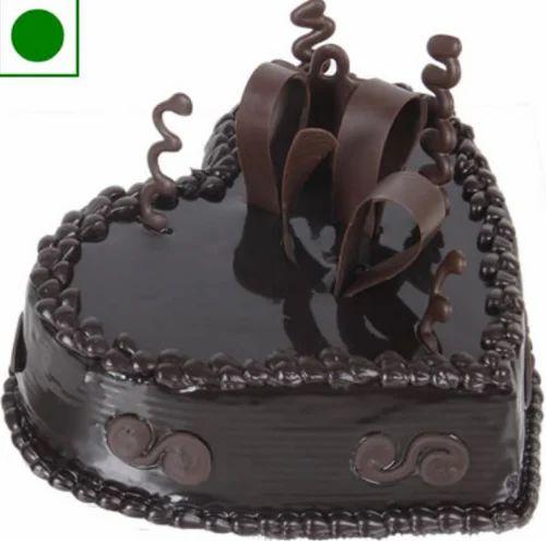 Sweet Heart Chocolate Eggless Cake At Rs 1500 Piece Eggless Cake