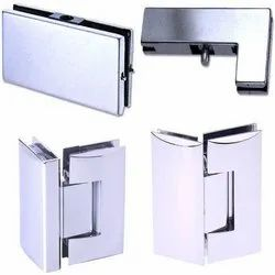 Standard Ploished/ Matt Ozone Glass Fitting, Stainless Steel, For Fixing Glass