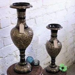 Kashmiri Swing Brass Flower Vase