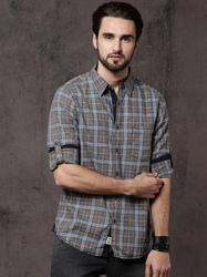 Stiles Full Sleeves Solid Casual Shirts