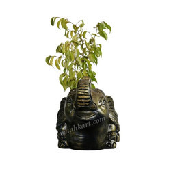 Elephant Shaped Decorative Small Plant Pot