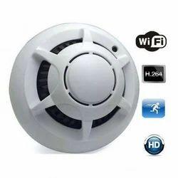 UFO Spy Wifi Smoke Detector Point To Point Camera