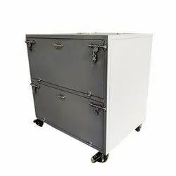 3 To 4 Feet Mild Steel Material Storage Trolley