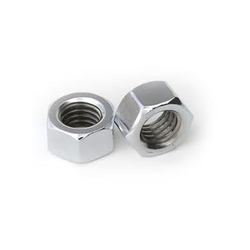 Galvanised Iron Polished Nut, Packaging Type: Plastic Bag