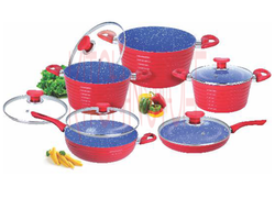 Cookware Set - 10 Pcs. Big Groove