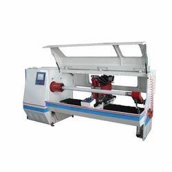 Plastic PVC Adhesive Tape Roll Cutting Machine