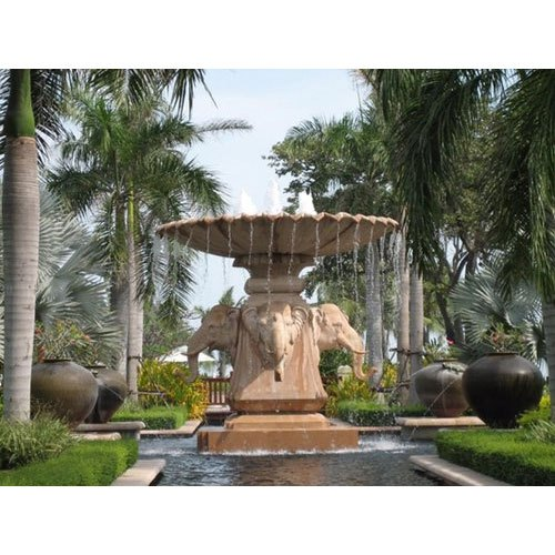 Brown Sandstone Water Fountains