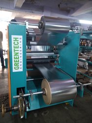 Paper Plate Raw Material Lamination Machine