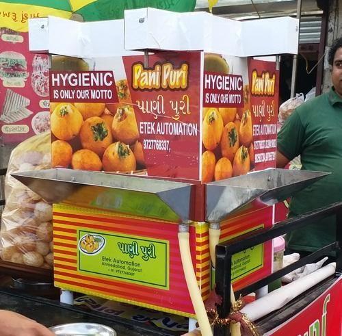 Panipuri Water Serve Machine